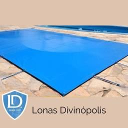 Lona Aquática de PVC Reforçada Seminova 8 x 4 | Para cobrir piscina