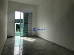 Apartamento com 2 dormitórios para alugar, 66 m² por R$ 1.700/mês - Canto do Forte - Praia