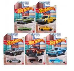 Hot Wheels - Set 5 Miniaturas - Hot Pickups - GYN20