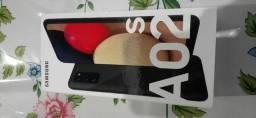 Caixa do Samsung A02s com carregador por 40 reais