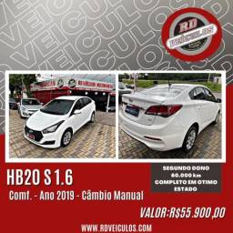Hyundai HB20S C.Plus/C.Style 1.6 Flex 16V Mec.4p 2019 Flex