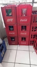 Vendo grades de refrigerante de 1 litro de vidro