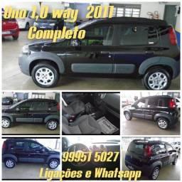 Uno way2011 R$ 7.900.00 entrada