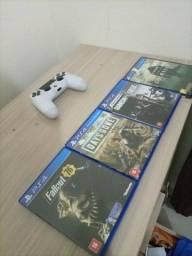 4 Jogos PS4 Em Ótimo Estado