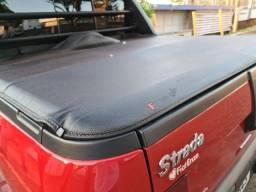 Linda Fiat Strada Vermelho Persian - Baixou pra vender!!!