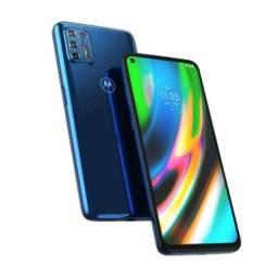 """Smartphone Motorola G9 Plus 128GB Tela 6,8"""" Câmera Quádrupla Traseira"""