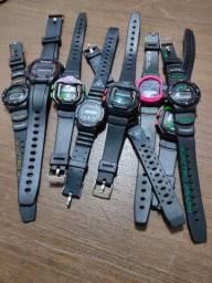 Lote relógios digitais