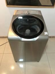 Título do anúncio: Máquina de Lavar 11kg Toda em Inox Conservada Entrego