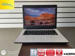Título do anúncio: Notebook Lenovo Core I3 4 de Ram SSD de 120 Tela Slim 14 Polegadas-Aceito Cartão