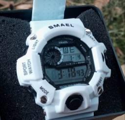 relógio smael branco