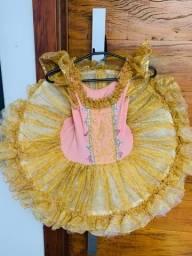 Roupa de luxo de ballet