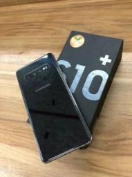 Impecável e com garantia ?Galaxy S10+?