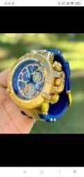 Relógio Invicta Subaqua Noma III - 15800 Azul com Dourado