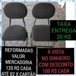 Título do anúncio: cadeiras escritorio semi novas reformadas