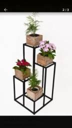 Suporte para plantas artesanal