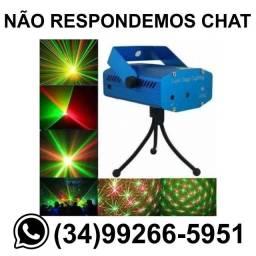 Mini Laser Holográfico Jogo de Luz Bivolt