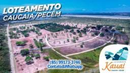 Título do anúncio: Lotes Próximos à Praia do Cumbuco, 700m da Lagoa do Cauípe