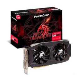 Título do anúncio: Kit Placa de Video AMD Radeon RX 580 Series + 16 GB (2x8) Memoria RAM