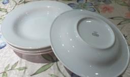 pratos fundos porcelana schmidt
