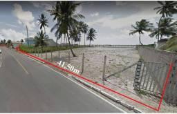 Vendo terreno à beira-mar na Barra Nova, com 2.500m.