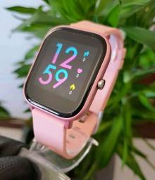 Relógio inteligente P8 SE lacrado (recebe notificação whatsapp)