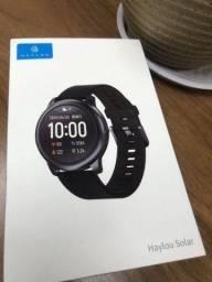 Relógio Haylou Solar ls05 + Película Protetora