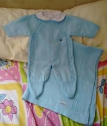 Título do anúncio: Saida maternidade azul creações tamine