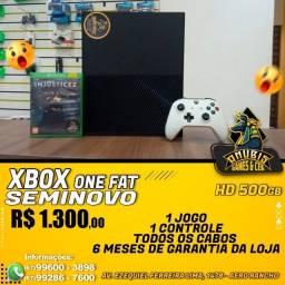 Anubis Games: Xbox one FAT seminovo!