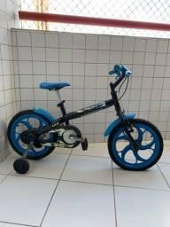 Bicicleta Infantil Caloi Hot Wheels Bike