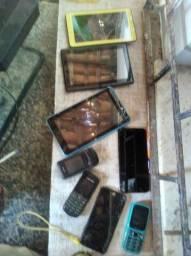 Vendo tablets e telefones pra conserto
