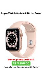 Apple Watch Series 6 40mm Rosa Lacrado