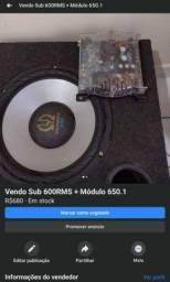 Sub 600RMS + módulo 650.1