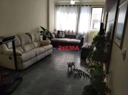 Título do anúncio: Apartamento à venda, 109 m² por R$ 545.000,00 - Boqueirão - Santos/SP