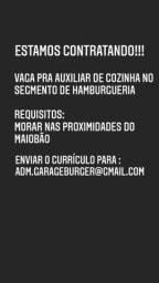 Título do anúncio: Estamos contratando! VAGA PARA AUXILIAR DE COZINHA