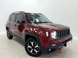 Renegade Trailhawn 2.0 4x4 Diesel | Bancos revestidos em couro + Central multimídia