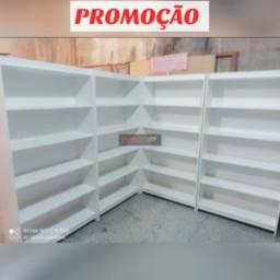 Título do anúncio: Kit 4 prateleiras 100%mdf PROMOÇÃO so essa semana