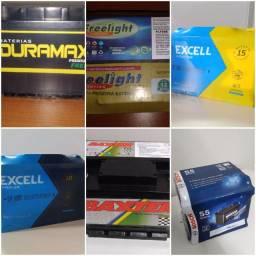 Baterias a partir de R$169,90 *instalação grátis