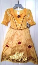 Vestido Disney Bella Infantil  Importado Disney Store Original