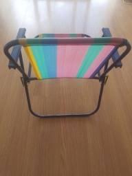 Cadeira de abrir de praia