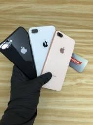 Apple IPhone 8 Plus 64GB/256GB *Seminovo vitrine a partir de R$2.399*