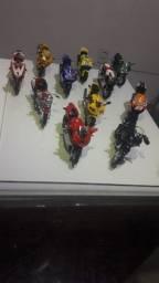 Motos de coleção do Super