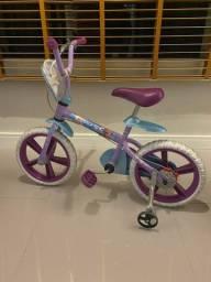 Bicicleta infantil aro 14 Frozen Disney