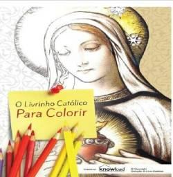 Livrinho Católico Infantil para Colorir