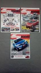 Revista Quatro Rodas Ano 2014 + Encartes