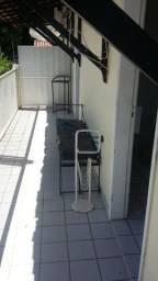 Apartamento de um quarto com varanda