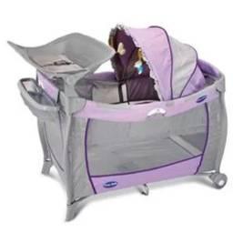 Berço desmontavel prime baby lilás