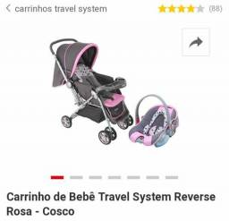 Vendo Carrinho com Bebê comforto