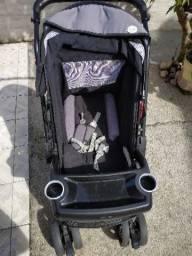 Carrinho + bebê conforto + berço desmontável