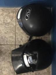 2 capacetes 140,00