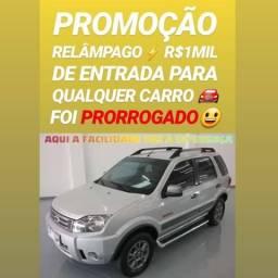 Entrada DE R$1MIL REAIS(ECOSPORT 1.6 FREESTYLE 2012) SÓ NA SHOWROOM AUTOMÓVEIS